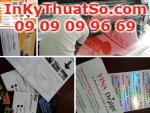 08 2238 6666 - Hotline công ty In Kỹ Thuật Số các sản phẩm in nhanh, in quảng cáo