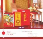 In lịch treo tường giá rẻ - Báo giá in lịch treo tường TPHCM