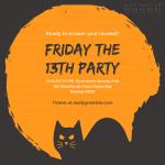 Giá in thiệp mời sự kiện Halloween Party