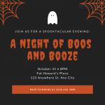 In thiệp mời giá rẻ - Nhận in thiệp mời Halloween Party số lượng ít