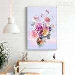 Xưởng in tranh canvas hoa mẫu đơn