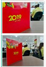 Công ty in lịch Tết 2019 giá rẻ tại Bình Thạnh