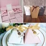 In hộp quà cưới cô dâu chú rể - thiết kế và in hộp giấy offset, cắt hoa văn theo yêu cầu