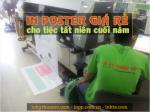 In poster giá rẻ cho sự kiện tiệc tất niên