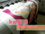 In PP giá rẻ làm banner khuyến mãi chào mừng ngày 8/3