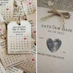 In thiệp cảm ơn đám cưới, Save The Day - thiết kế thiệp hiện đại, tiệm cận xu hướng thế giới