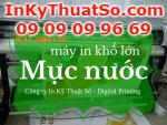 Lắp đặt máy in silk mực nước khổ 1.8m lớn nhất tại Việt Nam