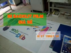 In backlit film giá rẻ, nhận in backlit film làm hộp đèn quảng cáo tại TPHCM