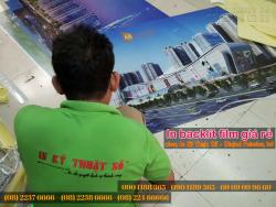 In backlit film giá rẻ tại HCM