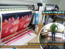 In backlit film giá rẻ, in backlit film trang trí