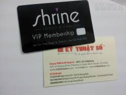In thẻ VIP, in thẻ thành viên giá rẻ tại TPHCM