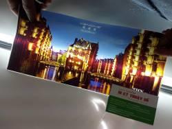 In UV Silk bóng chất lượng cao dùng tranh ảnh nghệ thuật, quảng cáo