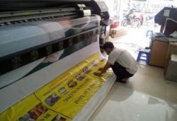 In UV Hiflex (không xuyên) bạt dày 3.2mm chất lượng cao dùng làm banner quảng cáo