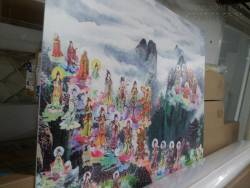 In tranh Phật, in tranh thờ Phật trong nhà