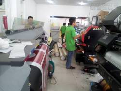 Đội ngũ kỹ thuật in máy mực dầu khổ lớn tại In Kỹ Thuật Số
