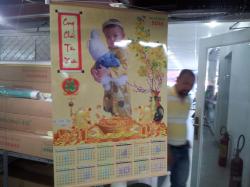 In lịch Tết Đinh Dậu 1 tờ giá rẻ