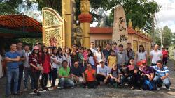 Công ty In Kỹ Thuật Số cúng dường trai tăng và khuân đồ hộ các sư thầy tại Thiền Viện Trúc Lâm Phật Đăng ngày 28/5/2017