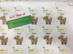 In tem decal sữa cán màng bế chuẩn đẹp tại công ty In Kỹ Thuật Số