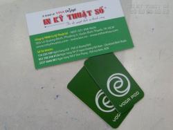 In thẻ nhựa theo yêu cầu