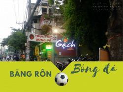 In băng rôn cổ vũ bóng đá giá rẻ tại TPHCM