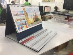 In lịch để bàn số lượng ít - In lịch để bàn giá rẻ TPHCM