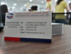 Làm card visit ở Gò Vấp - Địa chỉ làm card visit TPHCM giá cạnh tranh