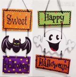 Giá in format - Làm biển hiệu treo cửa trang trí Halloween
