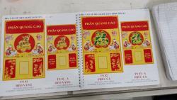 In lịch bloc giá rẻ - In lịch Tết 2019 theo yêu cầu