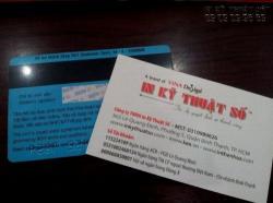 In thẻ từ nhân viên, thẻ từ chấm công, thẻ từ thang máy, thẻ từ khách sạn chất lượng TPHCM