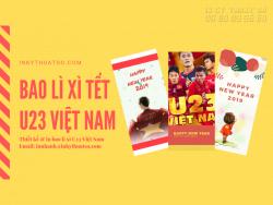 Thiết kế & in bao lì xì U23 Việt Nam