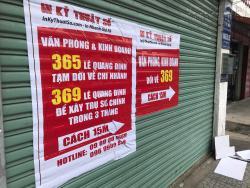 InKyThuatSo dời nhóm kinh doanh & văn phòng trụ sở chính 365 sang Phân Xưởng Chi nhánh 369 cách đó 15m để xây dựng trụ sở trong 3 tháng