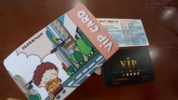 In thẻ nhựa mini cho spa, phòng tập gym, trung tâm yoga