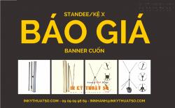 Bảng báo giá Standee - Banner từ tháng 03 năm 2015