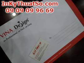 Dịch vụ in ấn thiết kế bao thư từ in offset