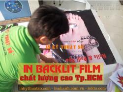 In backlit film chất lượng cao Tp.HCM