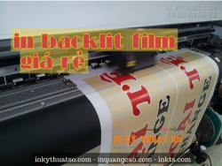 In backlit film giá rẻ