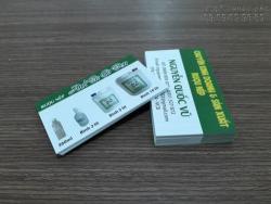 In name card giá rẻ quận Bình Thạnh