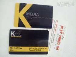 In thẻ nhựa cao cấp bằng công nghệ in kỹ thuật số