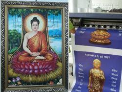 In tranh tượng Phật đẹp Tp HCM