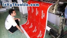 In ấn quảng cáo bền màu mực dầu