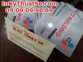 In ấn thẻ nhựa tại TP.HCM
