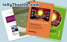 In ấn thiết kế Brochure tạo ấn tượng tốt về sản phẩm, dịch vụ