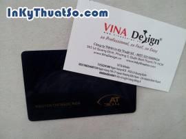 In card visit bằng nhựa nhanh tại Bình Thạnh