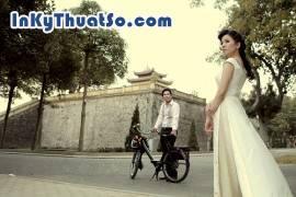 In hình cưới