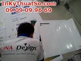 In kỹ thuật số trên chất liệu PP làm poster cho trương trình 'Ngày hội bán hàng Samsung'