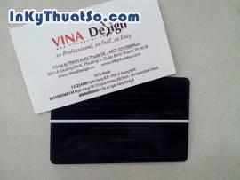 In name card bằng nhựa đẹp và ấn tượng hơn