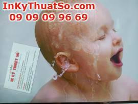 In quảng cáo chất liệu silk