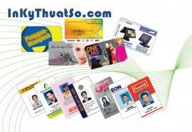 In thẻ nhựa dùng làm thẻ chấm công