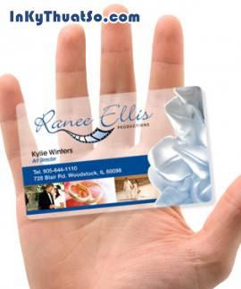 In thẻ nhựa dùng làm thẻ nhân viên