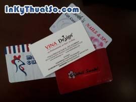 In thẻ nhựa PVC bền và lưu trữ được lâu